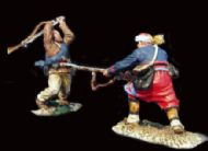 Civil War 003 Zouaves Vs Confederates